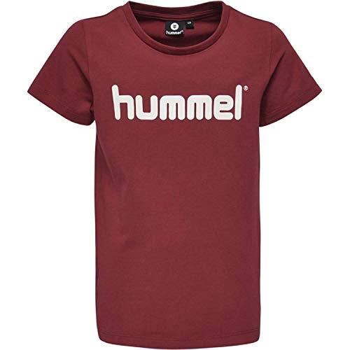 Hummel Mädchen HMLVENI S/S T-Shirt, Rumba Red, 152