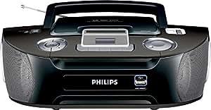 Philips AZ1834/12 Radio CD mp3 Tuner analogique USB 2 x 1 W Noir