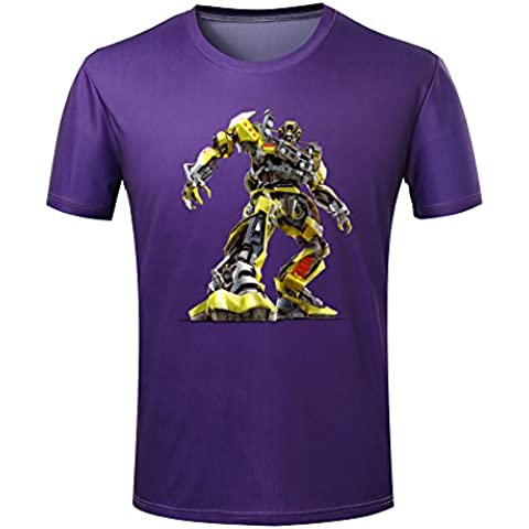 Men's Short sleevesTransformers Decepticon Simple Logo T-Shirt