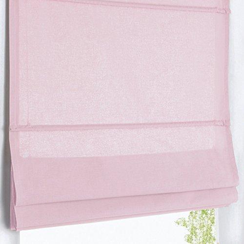 La redoute scenario tenda a pacchetto oscurante puro cotone taglia 170 x 50 cm rosa