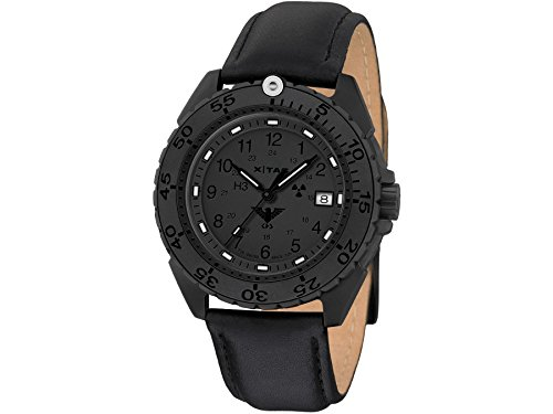 KHS Mens Watch Enforcer Black Titan XTAC KHS.ENFBTXT.L