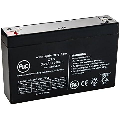 Batteria per Gruppo di continuità APC Smart-UPS PowerStack 450 6V 7Ah - Ricambio di marca AJC®