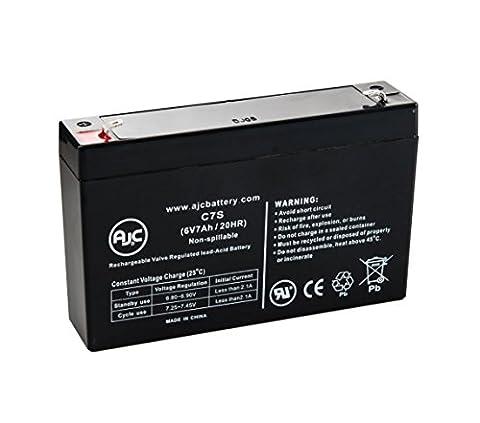 Batterie Long Way LW-3FM7 6V 7Ah Acide scellé de plomb - Ce produit est un article de remplacement de la marque AJC®