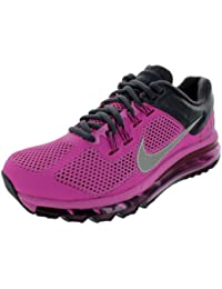 Nike Women's - Air Max + 2013 - Club Pink Refelct Silver (UK 4)