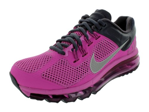 Nike Air Max + 2013 Sneakers Rose Des Femmes Taille Ue 37.5 Club Pink / Reflect Silver-grdrn