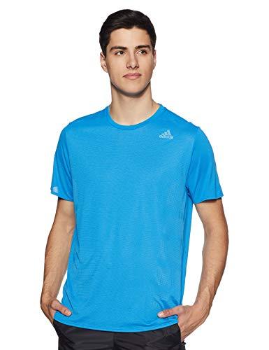 Adidas supernova tee t-shirt, uomo, blu (bright blue bright blue), large (taglia produttore:l)