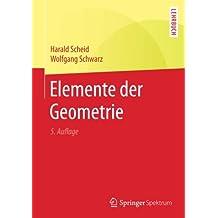 Elemente der Geometrie