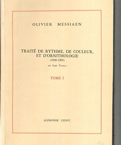 Traité de rythme de couleurs et d'ornithologie, tome 1