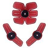 NTS Toner per Muscoli Addominali AB Allenatore Tonificante Cinture Intelligence Fitness Training, USB Pigro per Uso Domestico Caricamento Addominale Perdita di Peso Attrezzature per Il Fitness