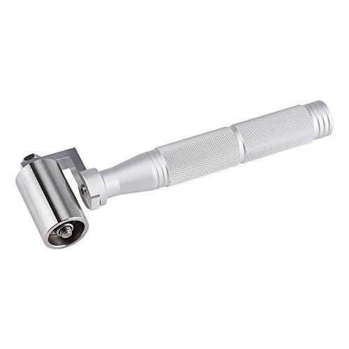 40mm Edelstahl Tapete DIY Hand Roller Druckkante Roller Papiernaht Roller