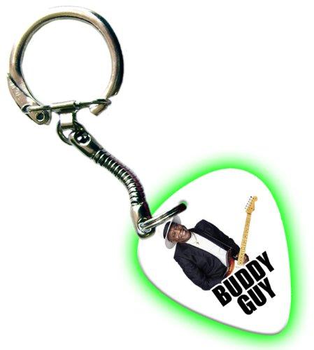 Buddy Guy Glow Gitarre Pick Schlüsselring Keychain Band Plektron (Buddy Guy-guitar Pick)