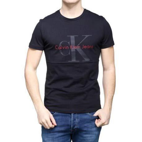 Calvin klein t-shirt hombre l black j30j306884-099-tl