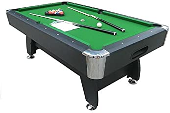 Play In The City Pool Table 8Ft. X 4Ft Green American Style Billiard