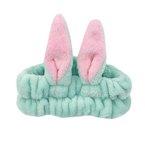 Amphia - Damen Twist Knot Stirnband elastische Kopf Wickeln Turban Kaninchen Haarband - Größe: ca. 20X6cm
