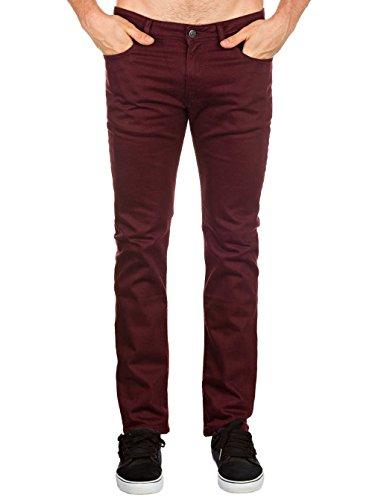 Reell Skin Stretch Jeans Aubergine