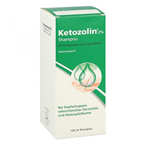 Ketozolin 2{afe7e62c282eb4c726f186ef64cd1c9d729f0e6eed69000d450f7876416580f5} Shampoo 120 ml