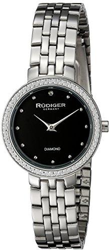 Rudiger Women's R3300-04-007 Hesse Analog Display Quartz Silver Watch