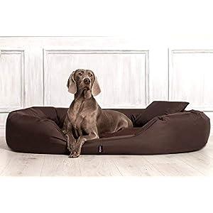 TIERLANDO S4-01 Sammy Extra ROBUST Hundesofa Hundebett Gr. L 100 cm BRAUN