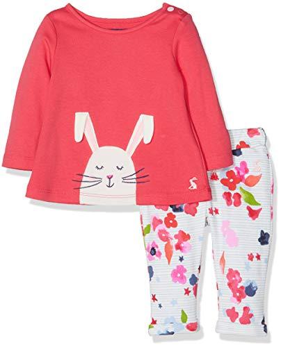 joules Baby-Mädchen Olivia Bekleidungsset, Deep Pink Bunny, 18-24 Monate Olivia Designer