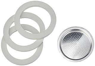Bialetti Gummidichtung und Filter 6 Tassen Aluminium