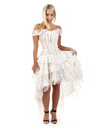 Burleska vestito di broccato Ophelie