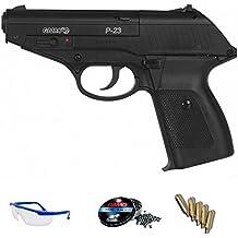 PACK pistola de balines - Gamo P23 de aire comprimido (CO2) 4.5mm <3,5J