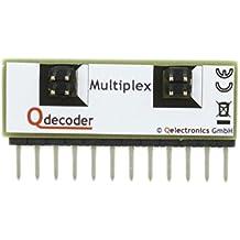 QD122: Adapter-Leiste für den Betrieb von Multiplexsignalen Qdecodern der Serie Z2 und ZA2 (beim deLuxe integriert!)