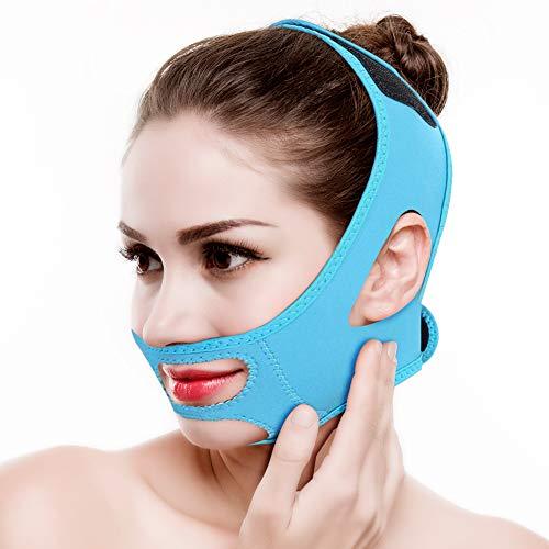 Adelgazante Facial Vendajes Máscara Adelgazar Cara