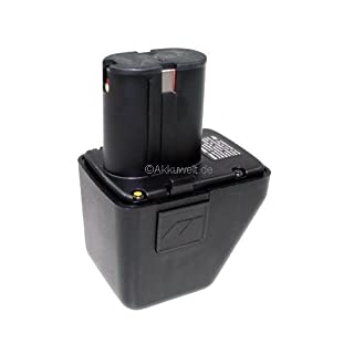 Replacement battery for Gesipa Titge Meyer Würth AccuBird Power Bird ERT130W232072560207251017Würth 070291510061