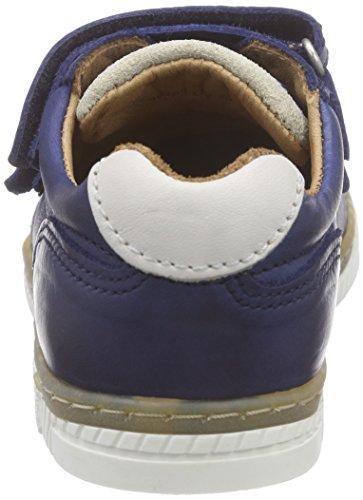 Bisgaard Velcro Shoes, Baskets Basses mixte enfant Bleu (20 Blue)