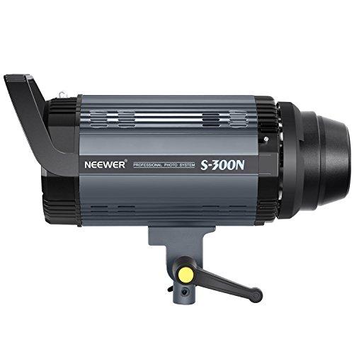 Neewer S300N Profi Studio Mondlicht Strobe Blitz Licht-300W 5600K mit Modellierung Lampe, Aluminium-Legierung professionell Speedlite für Indoor Studio Lage Modell Fotografie und Porträt Fotografie
