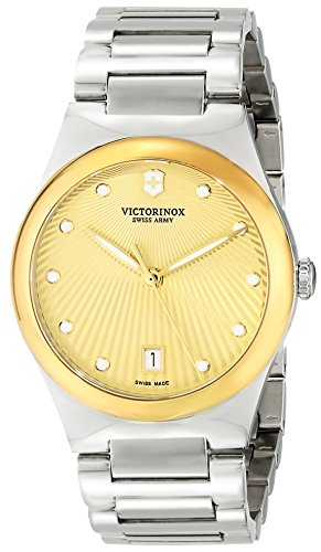 Victorinox Women's 241633 Victoria Analog Display Swiss Quartz Silver Watch