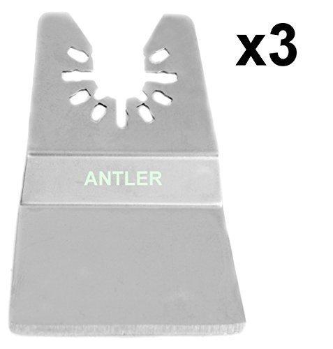3 x Antler 50mm Abstreifer-klingen Dewalt Stanley Worx F30 Erbauer Black & Decker Oszillierendes Multitool QAB50SPR