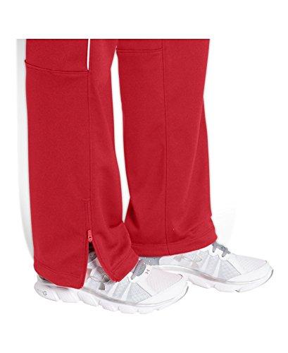 Under Armour pour femme UA Rival Knit Warm Up pour homme rouge/blanc