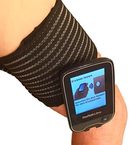 80 cm langes Schutzband zur freien Befestigung des Freestyle-Sensors. Für Schwimmbad, Bad und Dusche