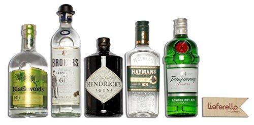 lieferello-gin-set-basic-haymans-old-tom-hendricks-gin-tanqueray-brokers-premium-london-dry-blackwoo