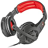 Trust Gaming GXT 4310 Jaww - Auriculares de Gaming, Color Negro