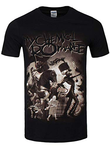My Chemical Romance On Parade T-Shirt schwarz XL (Chemical My Shirt Romance)