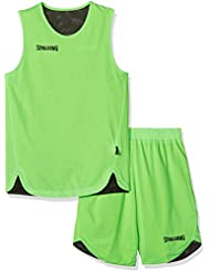 Spalding, Conjunto de Deporte Infantil, Verde/Negro, M