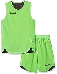 Spalding, Conjunto de Deporte Infantil, Verde/Negro, XXS/128