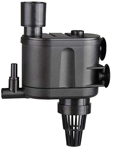 Nicepets Mini-Wasser-Umwälzpumpe mit Skimmer Filter und Belüftungsdüse für Meeres- und Süßigkeiten-, Fisch-, Teich- und Brunnen Leistung: 350 l/h und 2,5 W.