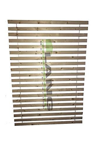 Exklusiv Rollrost Lattenrost Extra Stark m. 20 stabilen Lamellen 5 cm breit 1,9 cm dick 140x200cm
