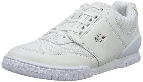 Lacoste L!ve, Indiana, Sneakers da Donna, Bianco (wht), 37