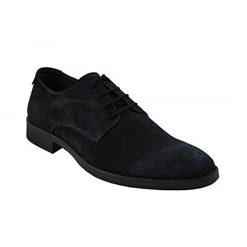 Benavente , Chaussures de ville à lacets pour homme Bleu