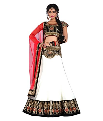 lehenga (Women's Clothing Lehenga For Women Latest Design Wear Lehengas Collection in Green Coloured Georgette Material Latest Lehenga With Designer Blouse Free Size Beautiful Bollywood Lehenga For Women Party Wear Offer Designer Lehenga Choli With Blouse Piece)  available at amazon for Rs.249