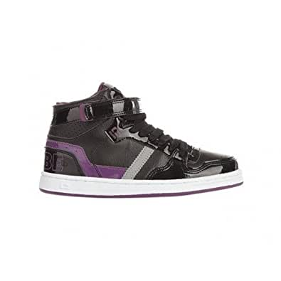 globe superfly kids black dark purple Pointure enfant 35