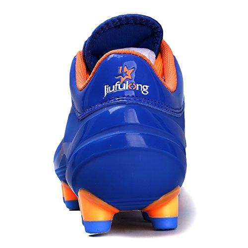 Aleader  Performance, Chaussures de football pour garçon Bleu