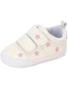 Zapatos de bebé Auxma Zapatillas de deporte de los niños de los bebés Zapatos de Prewalker de cuero de la PU del...