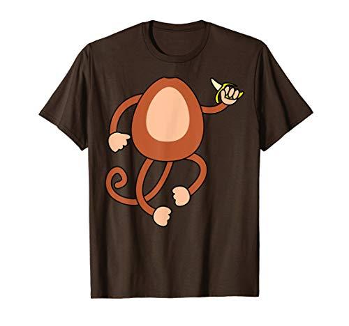 Und Affen Kostüm Bananen - Affe Holding Bananen Kostüm Lustiges Halloween Geschenk T-Shirt