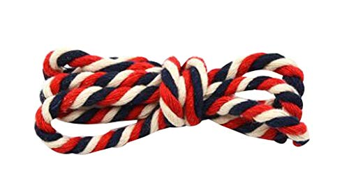 Black Temptation Farbige Baumwolle Seil DIY handgewebte Seil Dekoration Seil, 10 m/Rolle [K] -